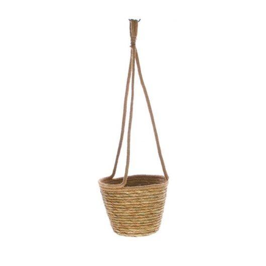 Hangpot van riet