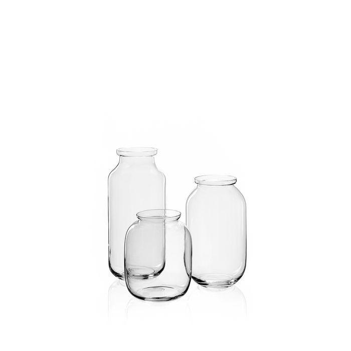 Vaas jar helder glas