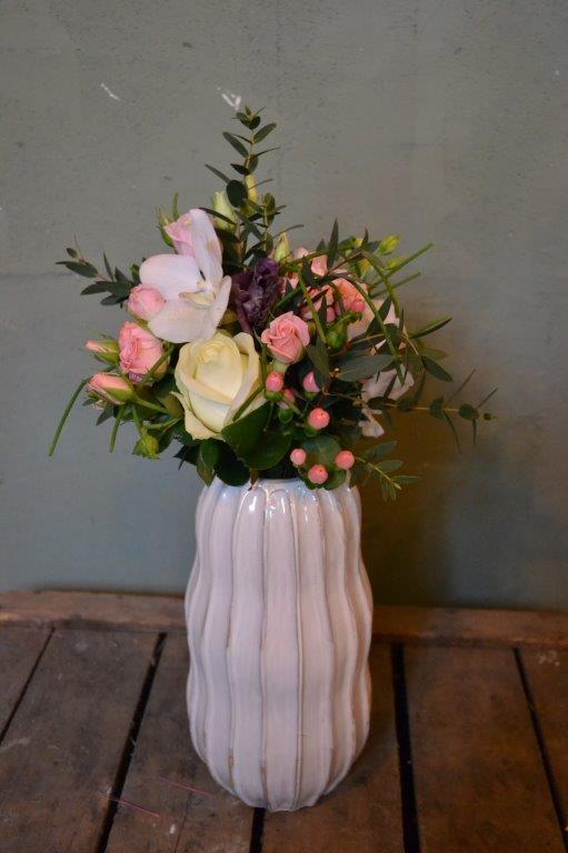 Bruidsboeket roze-wit