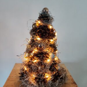 Kerstboom - dennenappels